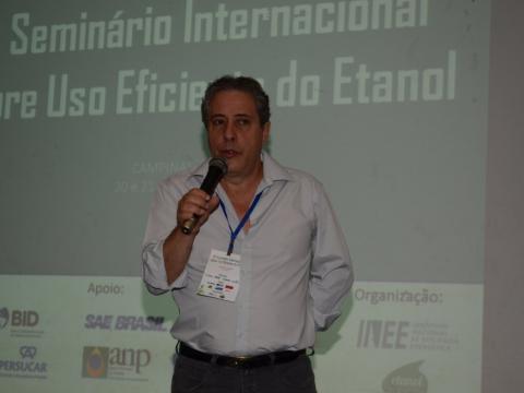 Professor Waldyr Gallo, da Unicamp. Foto: João Batista.