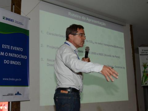André Luis Ferreira, do Instituto de Engenharia e Meio Ambiente (IEMA)
