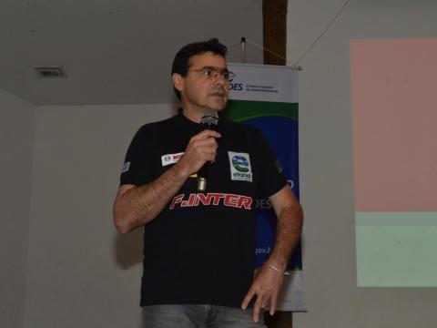 O empresário Marcos Galassi, idealizador da Fórmula Inter.