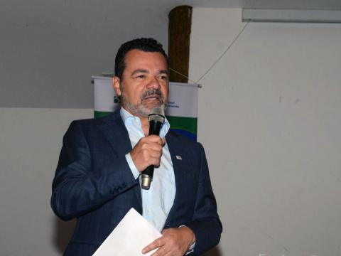 O presidente da Bosch, Basaliel Botelho