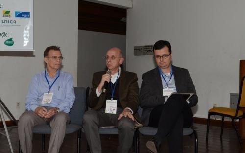Da esquerda para a direita, Manoel Régis, Plinio Mário Nastar e Denis Arroyo.