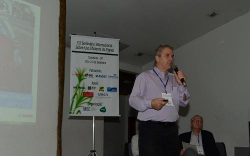 Erwin Franieck, gerente de Desenvolvimento de Sistemas de Controle do Motor e de Inovação, Gasoline Systems, Bosch. Foto: João Batista.