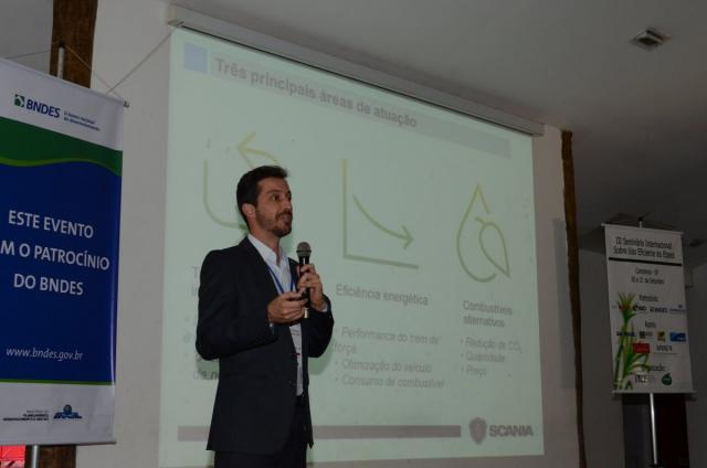 Hugo Nicioli, engenheiro da Scania. Foto: João Batista.